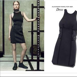 NWT Alexander Wang H&M Black Bodycon Dress Size 6